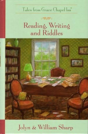 book cover of Reading, Writing, and Riddles