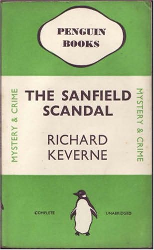 book cover of The Sanfield Scandal