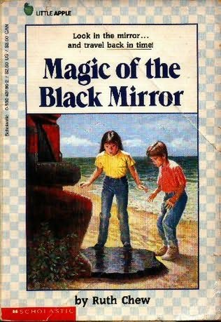 book cover of Magic of the Black Mirror