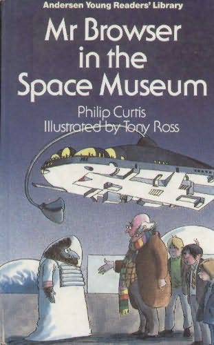 book cover of Mr. Browser in the Space Museum
