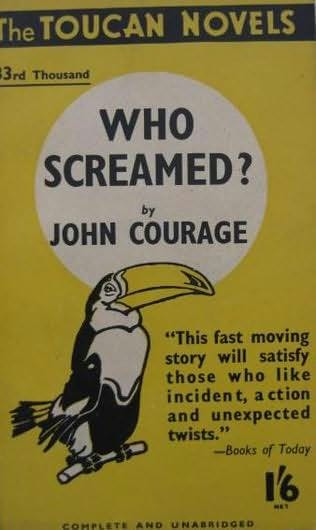 book cover of Who Screamed?