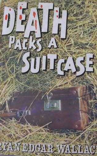 book cover of Death Packs a Suitcase