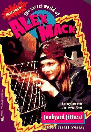 book cover of Junkyard Jitters!