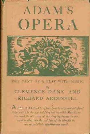 book cover of Adam\'s Opera