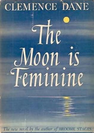 book cover of The Moon Is Feminine