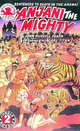book cover of Anjani, The Mighty