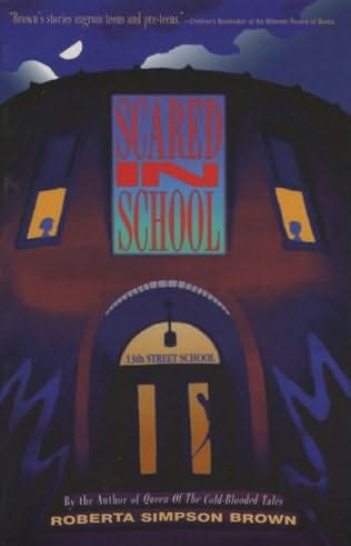 book cover of Scared in School