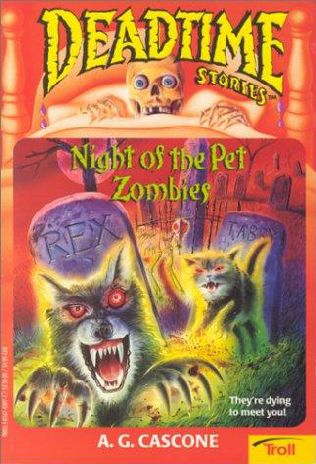 book cover of Night of the Pet Zombies