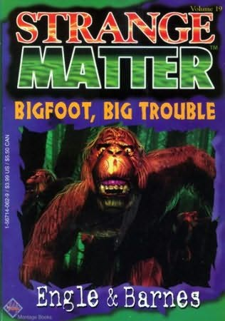 book cover of Bigfoot, Big Trouble
