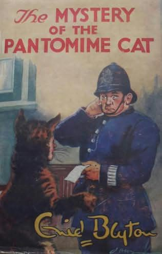 book cover of The Mystery of the Pantomine Cat