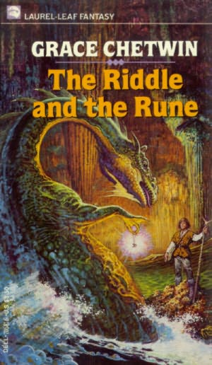 book cover of The Riddle and the Rune
