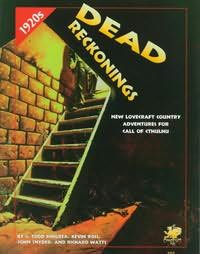 book cover of Dead Reckonings