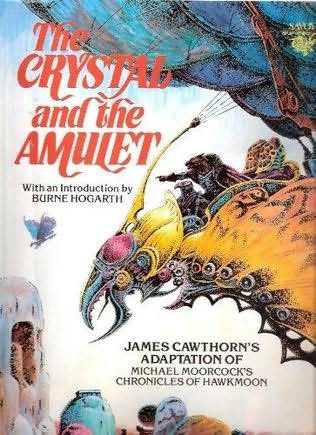 book cover of The Crystal and the Amulet