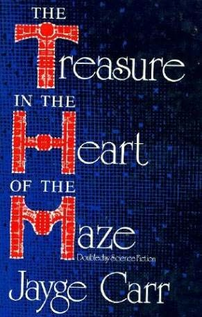 book cover of The Treasure in the Heart of the Maze