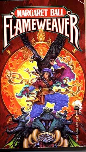 book cover of Flameweaver
