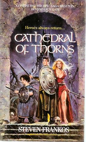 book cover of Cathedral of Thorns