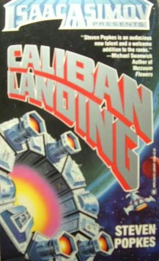 book cover of Caliban Landing