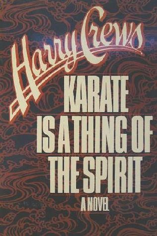 book cover of Karate is a Thing of the Spirit