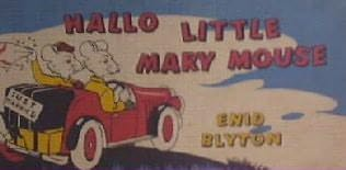 book cover of Hallo, Little Mary Mouse