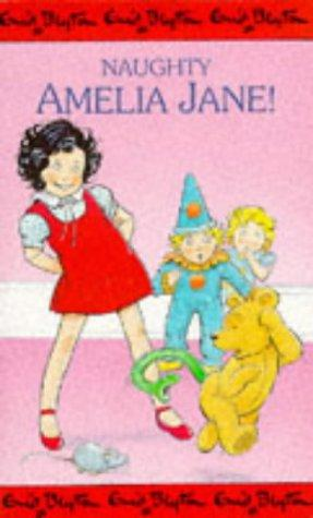 book cover of naughty amelia