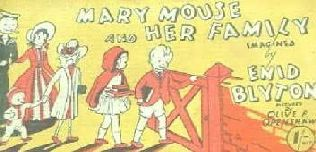 book cover of Mary Mouse and Her Family