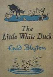 book cover of The Little White Duck