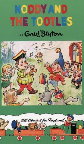 book cover of Noddy and the Tootles