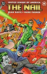 book cover of Justice League of America : The Nail