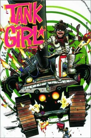 book cover of Tank Girl 3