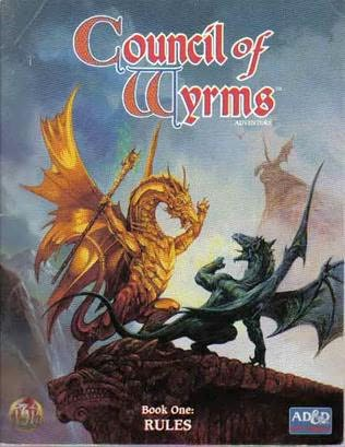 book cover of Council of Wyrms
