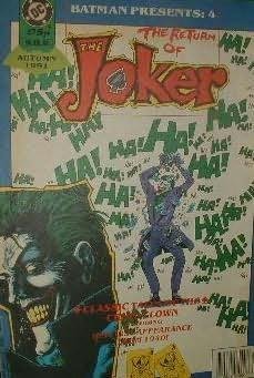 book cover of Batman: Return of the Joker