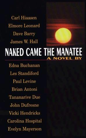 book cover of Naked Came the Manatee