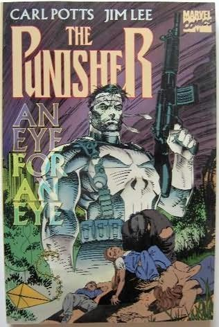 book cover of Punisher : An Eye for an Eye
