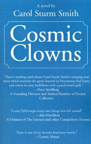 book cover of Cosmic Clowns