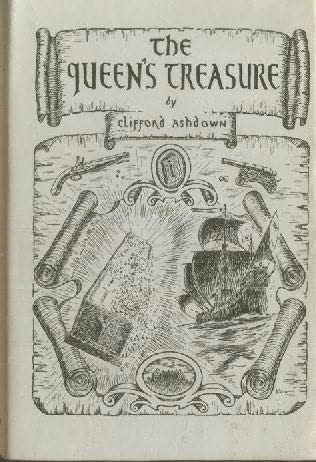 book cover of The Queen\'s Treasure