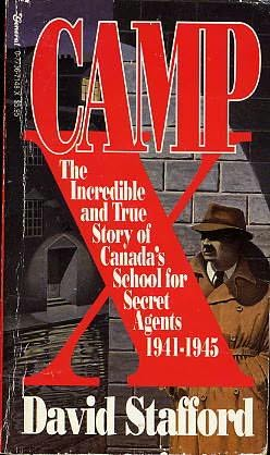 book cover of Camp X