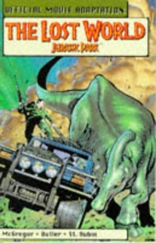 book cover of The Lost World: Jurassic Park