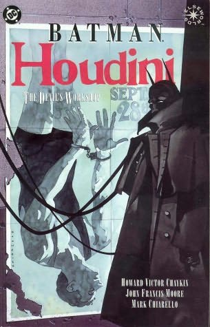 book cover of Batman and Houdini: the Devil\'s Workshop