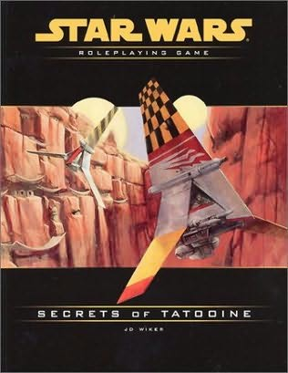 book cover of Secrets of Tatooine