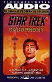 book cover of Star Trek Cacophony : A Captain Sulu Adventure