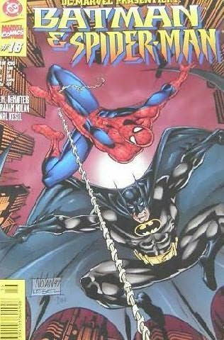 book cover of Batman Spider-Man
