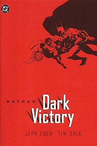 book cover of Batman : Dark Victory