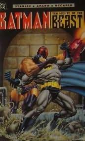 book cover of Batman: Ten Nights of the Beast
