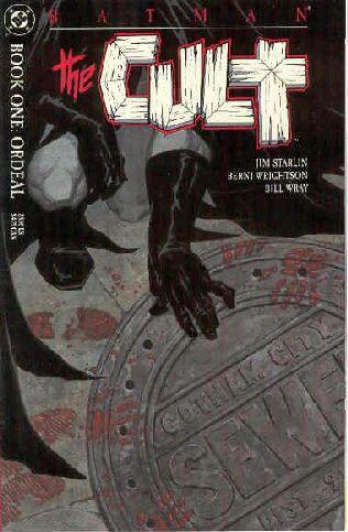 book cover of Batman: the Cult