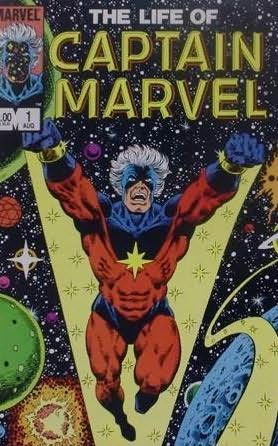 book cover of The Life of Captain Marvel