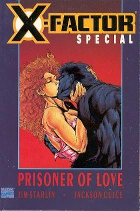 book cover of X-Factor Special Prisoner of Love