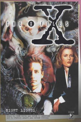 book cover of The X-files 4: Night Lights