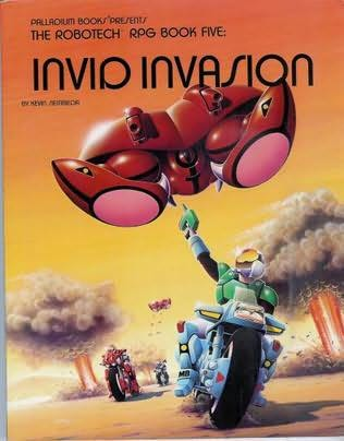 book cover of Invid Invasion (The Robotech Rpg Book Five)