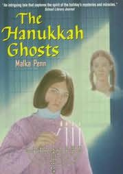 book cover of The Hanukkah Ghosts
