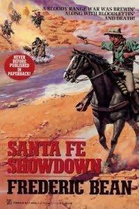 book cover of Santa Fe Showdown
